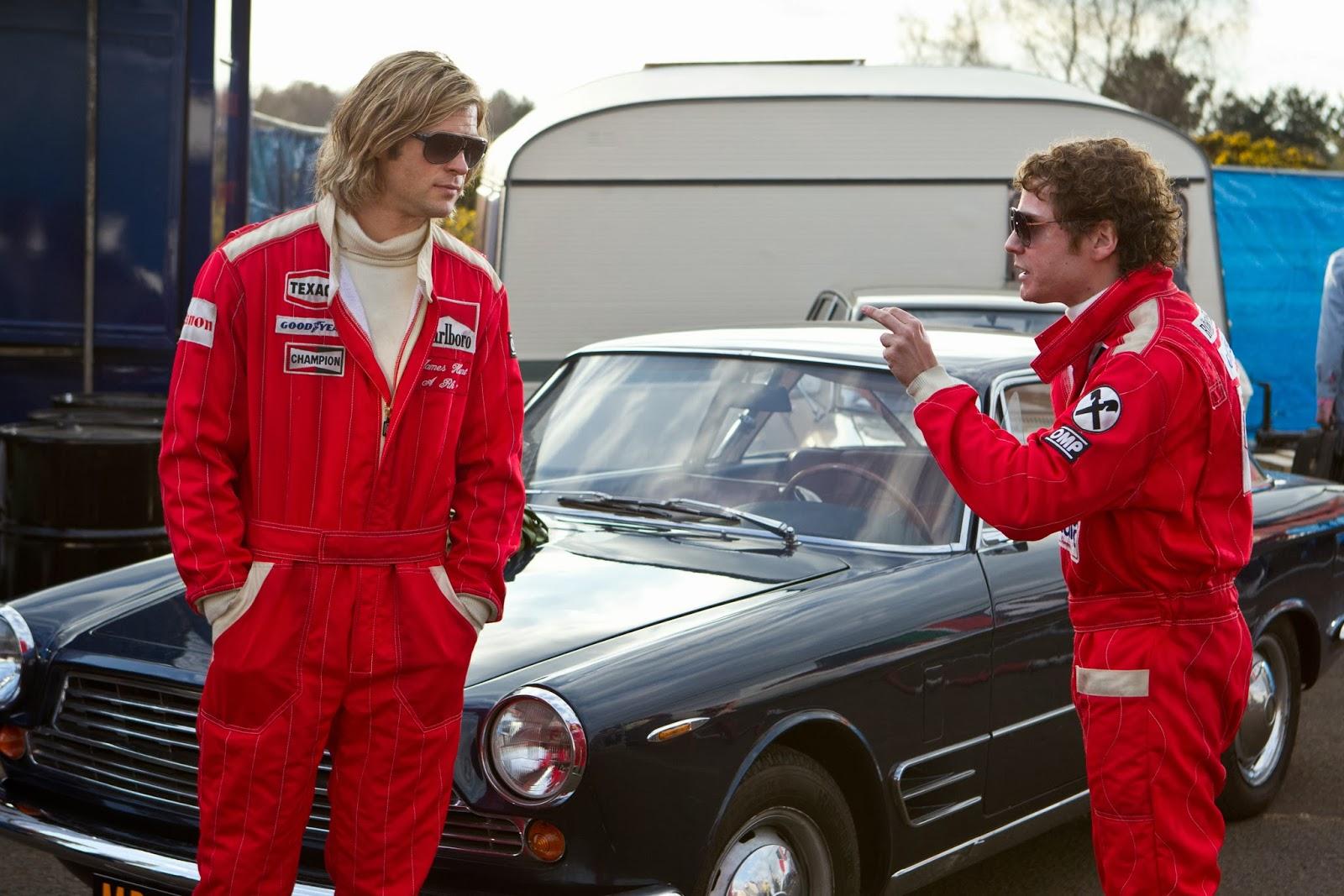 Race Car Movie With Chris Hemsworth